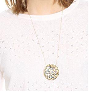Gold, House of Harlow 1960 sunburst pendant